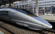 Shinkansen 500 Series - Japanese high speed railway lines.